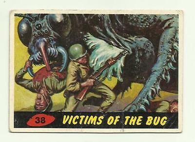 Vintage 1962 Topps Bubbles - Mars Attacks - #38 Victims of The Bug - Good