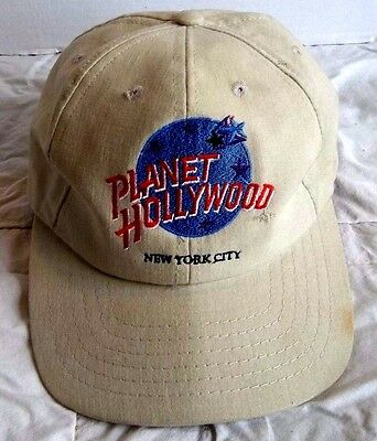 Planet Hollywood New York City Snap Back Baseball Cap Embroidered