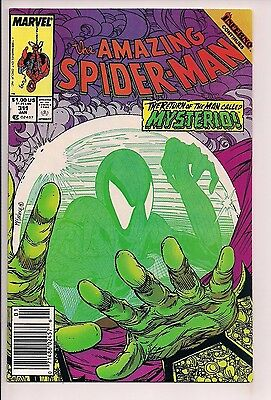 The Amazing Spider-Man #311 Mysterio vs Spidey by Todd McFarlane Marvel