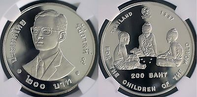 Thailand 1997 50th Anniversary of UNICEF NGC PF68 Ultra Cameo