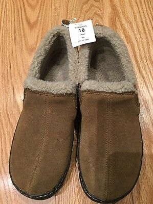 Men's Suede Leather Slippers