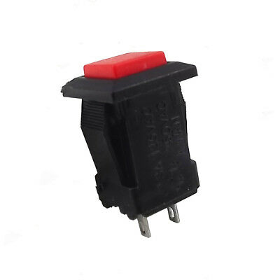 2PCS Red Square Micro Self-locking DS429 On/Off Push Power Control Button Switch
