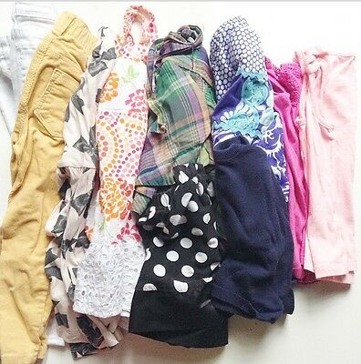 Girl's 10 Piece Clothing Whole Lot Size 2T Mixed Brands