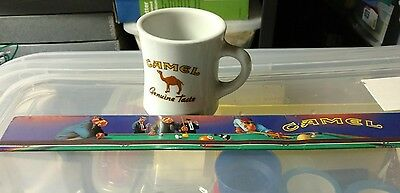 Joe Camel Cigarette Collectibles Matches Lighter Cup Mug