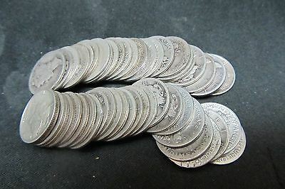 Mercury Dimes 1920 -1931 P-D-S - Roll Of 50 Coins -  None Later Than 1931