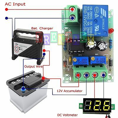 ND XH-M601 Battery Charging Control Board 12V Intelligent Charger Power Supply
