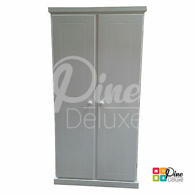 Hand Made Cambridge Ladies  Wardrobe White(Assembled)