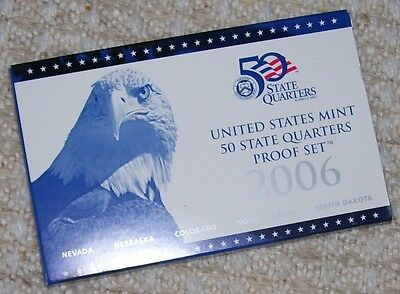 2006 Us Mint State Quarters Proof Set - 5 Coins
