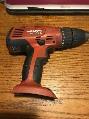 """HILTI Model SF181-A 18v 1/2"""" CORDLESS TOOL BARE TOOL ONLY *Fast Shipping* D16"""