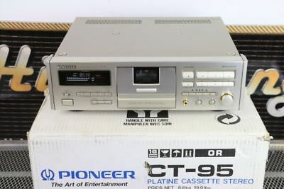 Rare PIONEER CT-95 High-End Reference 3 head TAPE/Cassette PLAYER BOXED