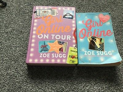 Zoe Sugg Books X 2, Girl Online And Girl Online On Tour - Zoella