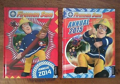 Fireman Sam annuals 2014 and 2015