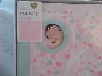 NEW CR Gibson LITTLE LOVE Baby Girl Memory Keepsake Book Loose Leaf