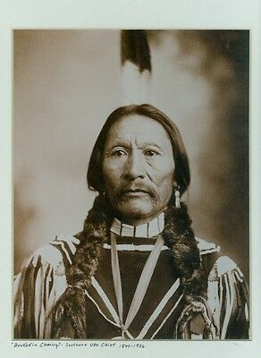 BUCKSKIN CHARLEY-UTE CHIEF-C.A. NAST PHOTO 1899-reprint