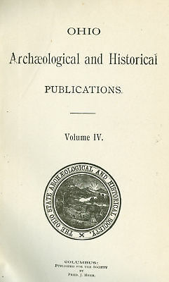 Ohio Archaeological and Historical Society Pub. Vol. 4