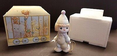 Precious Moments by Enesco Birthday Club Clown Leader of the Birthday Train