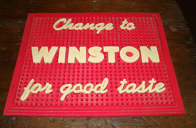 Old Winston Counter Top Change Tray Pad Advertisement