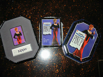Zippo Pinup Girls Collectible Lighter in Tin