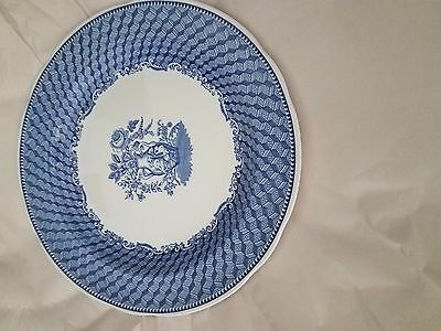 5 10 1/2 inch Spode Blue Room Collection plates
