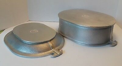 "Guardian Service Large 12"" Chicken Fryer And Lid - Tray Very Good Condition"
