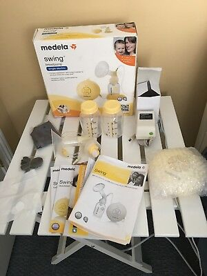 Medela Swing Single Electric Breast Pump Breastpump *NEW OPEN BOX*