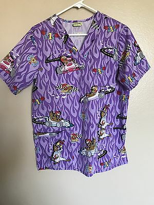 Scooby Doo Scrub Top Size Small
