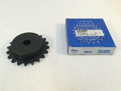 "Martin 50B20 Sprocket Made in USA 50 Chain 20T 0.625"" Pitch - Stock Bore"