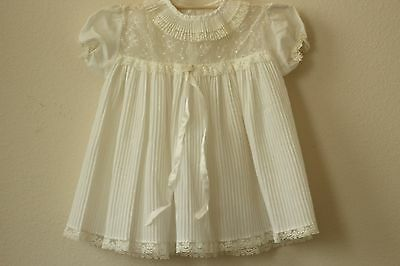 vintage antique baby clothes dress embroidered baby girl