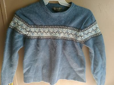 Banana Republic Kids Large 100% Lambs Wool Sweater
