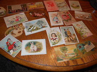 Huge Victorian Trade Card Lot 20 Advertising Perfume Sewing Dyes Art
