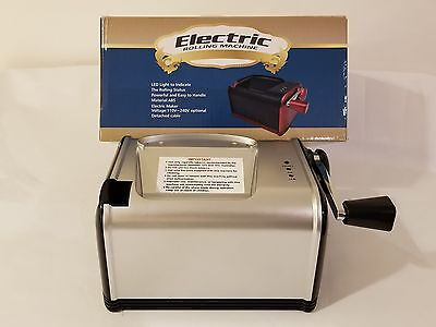 IBAMA Electric Cigarette Injector Maker Rolling Machine. (silver).
