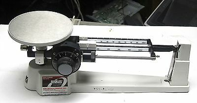 Ohaus Dial-O-Gram 1600 Series Beam Balance Scale Used School Surplus Good