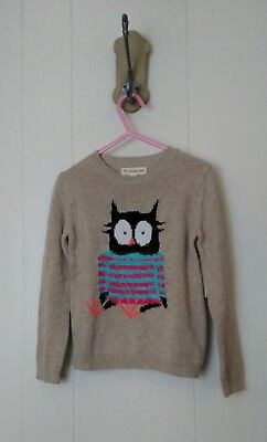 Tucker and Tate Girls owl sweater size 3 NWT
