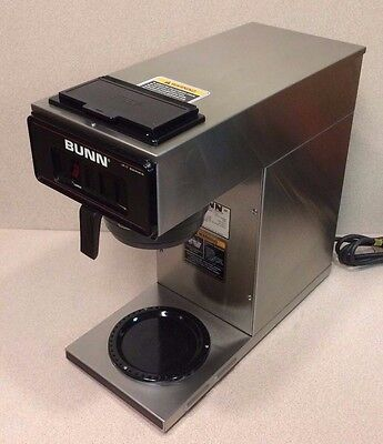 Bunn 12 Cup  Auto Coffee Brewer VP17-1 With 1 Warmer, 120 volts, Used. (unit11)