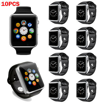 US Wholesale A1 Smart Bluetooth Watch Phone GSM TF for Android iOS Samsung 10pcs