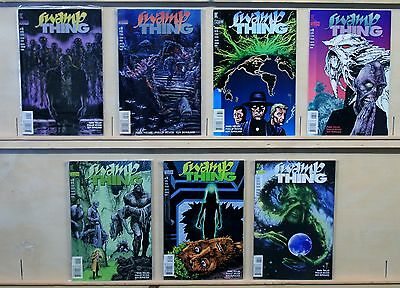 Swamp Thing (DC-1982-Mature) #155,158,166,168-171, Archane Returns