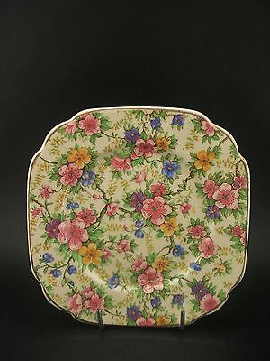China Replacement Empire Maytime Chintz Vintage Tea Plate England c1930s 13cm