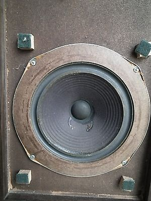 1 Vintage Kloss The Advent Masonite Raw Woofer Speaker **great Audio Hear Demo**