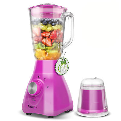 800 Watt Glas Standmixer 1,5L inkl. Kaffeemühle (1,1PS) Smoothie Maker Blender P