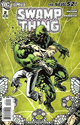 Swamp Thing Comic 2 DC 2011 New 52  Snyder Paquette   When It Comes A' Knockin'