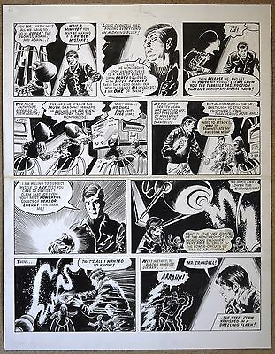 The Steel Claw Original Art From Valiant Comic