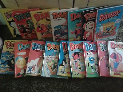Beano and Dandy annuals and comics huge bundle
