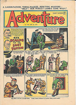 Adventure 1347 (Sept 30, 1950) very high grade copy