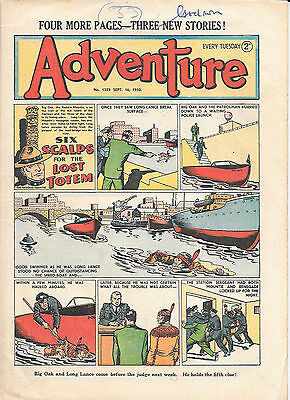 Adventure 1339 (Sept 16, 1950) very high grade copy