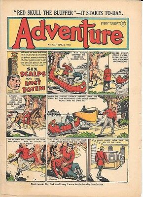 Adventure 1337 (Sept 2, 1950) very high grade copy