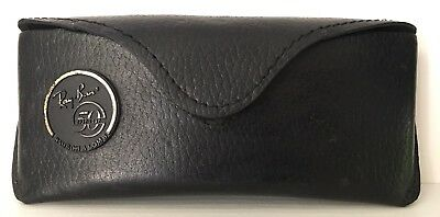 Ray Ban 50 Anniversary 1937-1987 Baush & Lomb Leather Box Case Vintage