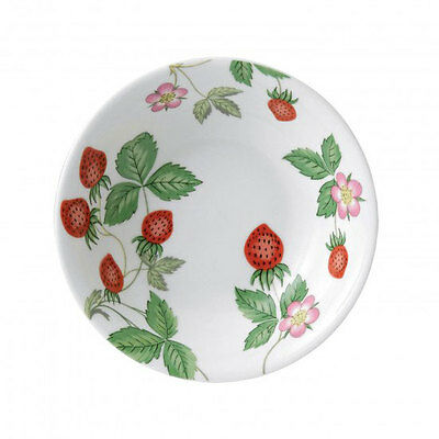 4 Wedgwood WILD STRAWBERRY BOWLS OATMEAL (BERRY)  NEW - England