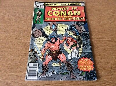 What If #13 Conan the Barbarian (1979 Marvel) FN+ condition Bronze Age