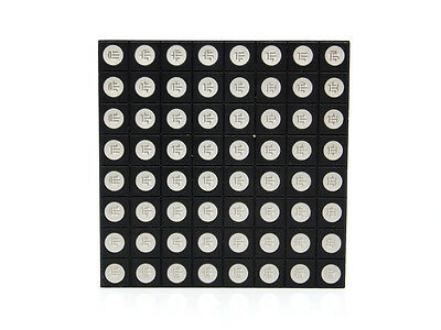 8x8 RGB LED Matrix - Common Anode - 64 total RGB LEDs