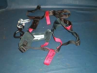 Mountaineering Rescue Climbing Rock Rappelling Zip Line Safety Harness & Acc.